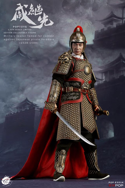 osw.zone POP TOYS 1 / 6th scale Famous general and national hero of Ming dynasty Qi Jiguang figure