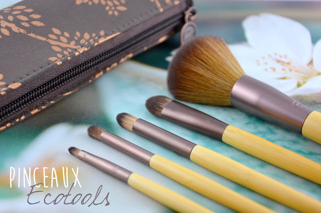 Le set de Pinceaux Ecotools, Day to night