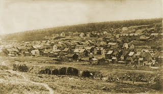 Une photo de Centralia prise en 1906