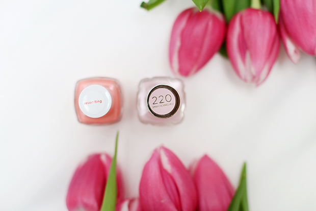 Bright nail polishes for spring/summer