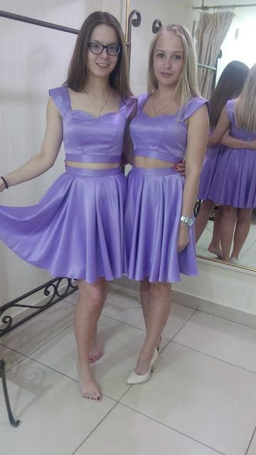 Подружки невесты примеряли платья