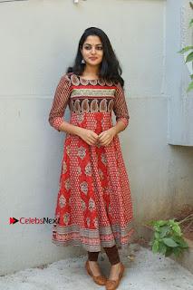 Telugu Actress Nikhila Vimal Latest Stills in Anarkali Dress  0200.JPG