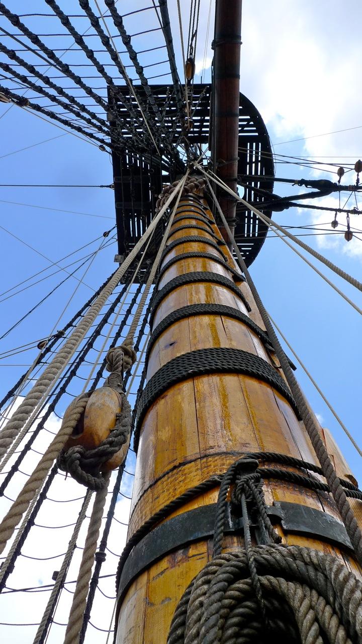 """VIKTOR DONOVAN: REPLICA """"1745"""" SAILING SHIP IN GOTHENBURG"""