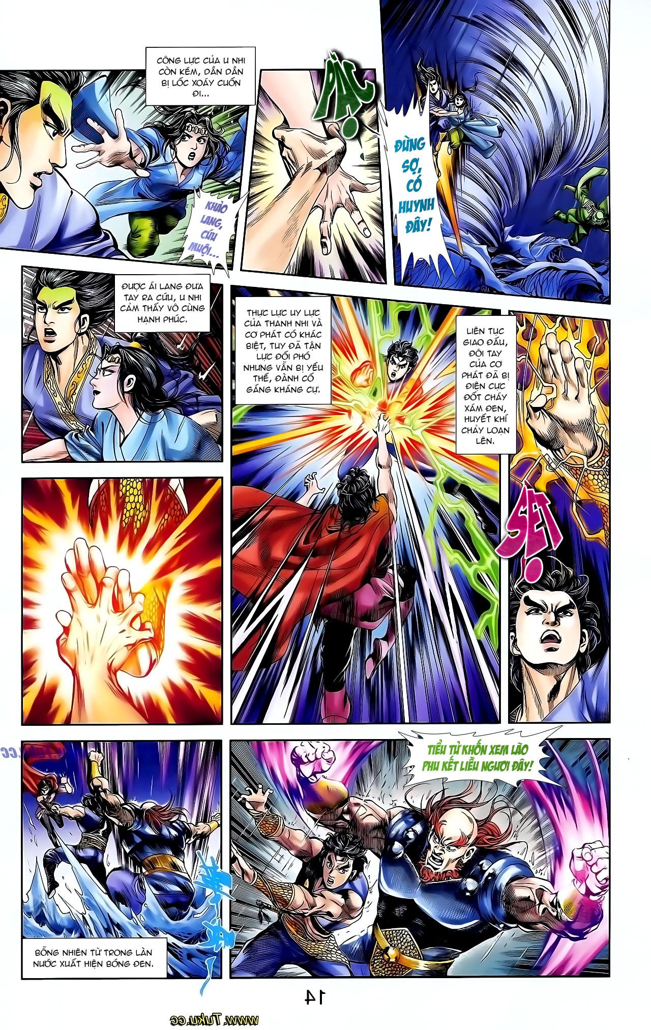 Cơ Phát Khai Chu Bản chapter 129 trang 10