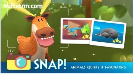 Game Dunia Binatang Android Snapimals MOD APK
