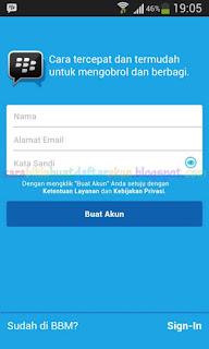 Cara Mengganti Akun BBM Dengan Email / ID BBM Yang Baru Tanpa Hapus Aplikasi