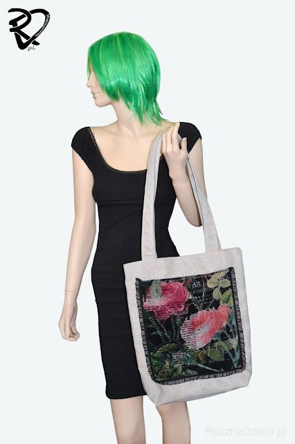 Elegancka i ekologiczna torba na zakupy