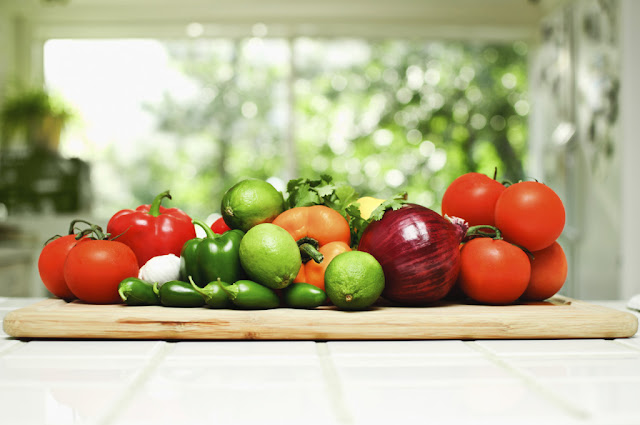 Fruits and Vegetables can help you get your daily required fluids.