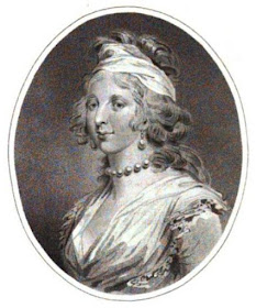 Princess Augusta from The Lady's Magazine (1793)