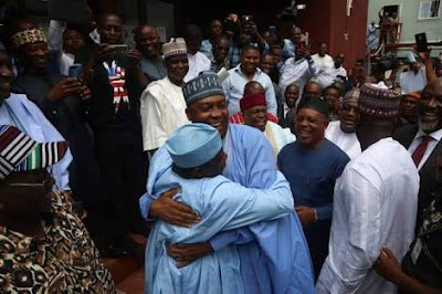 PHOTOS: Saraki, Kwankwaso, Tambuwal, Others At PDP NEC