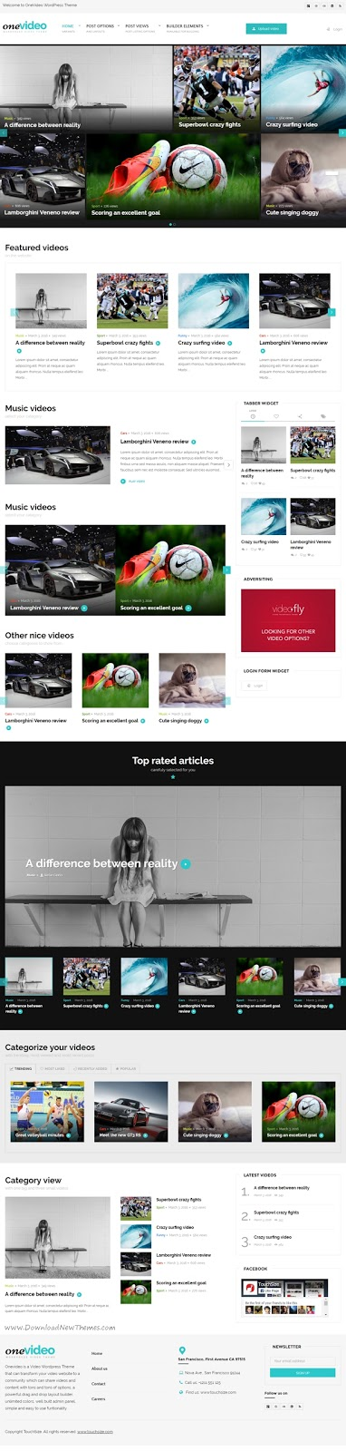 Best Video Community WordPress Theme