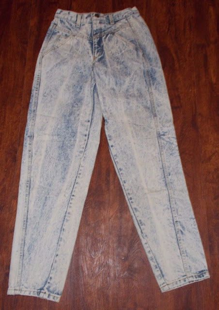 Women's/Junior's Vintage Zena Denim Stonewashed Jean's ~ Size 7~ U.S.A~ Rn 49628