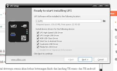 Cata install UFI Box
