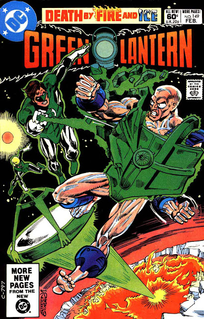 Green Lantern v2 #149 dc comic book cover art