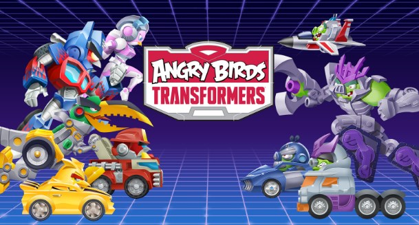 Download Angry Birds Transformers Mod Apk+Data v1.26.7 (Crystal Unlocked )