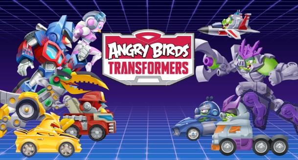 Download Angry Birds Transformers Mod Apk+Data v1.26.7 (Crystal Unlocked )