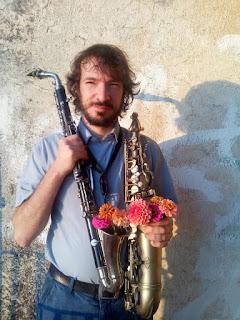 raffaele amenta con clarinetto alto e sax