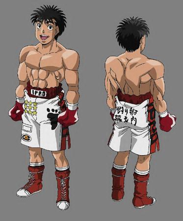 Hajime no ippo characters height