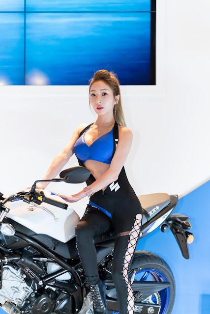 3 Jung Jung Ah Seoul Motor Cycle Show - very cute asian girl-girlcute4u.blogspot.com