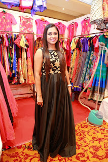 Bollywood Actress Sana Khan Launches Aakrithi Exibition  0196.JPG