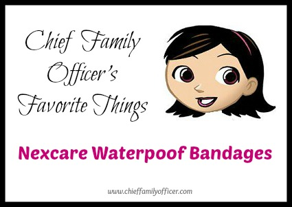 CFO Favorites: Nexcare Waterproof Bandages
