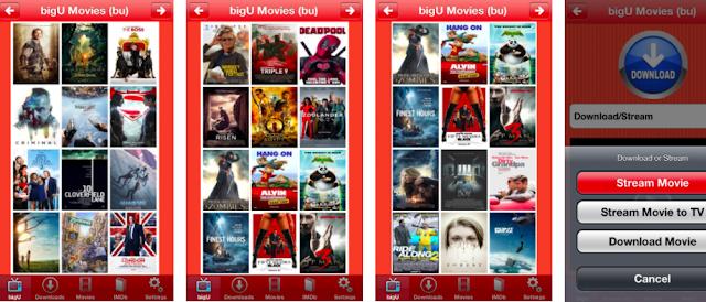 bigu movies app