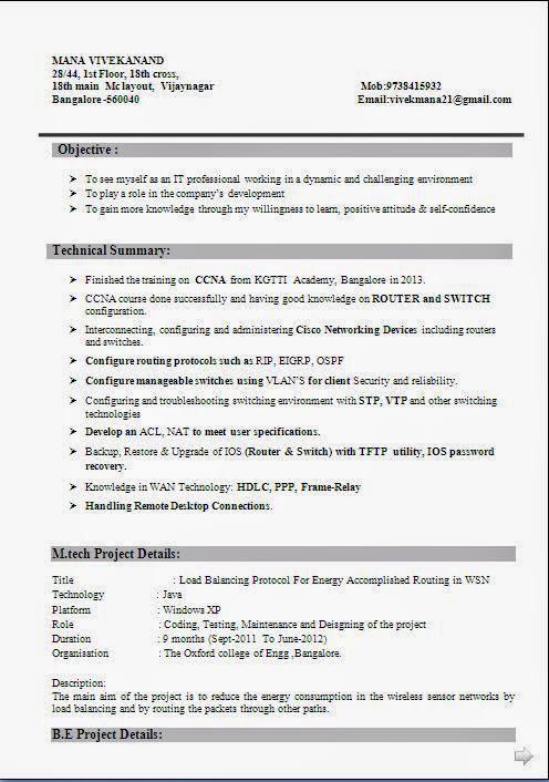 Resume In Kannada Language Plks Tk