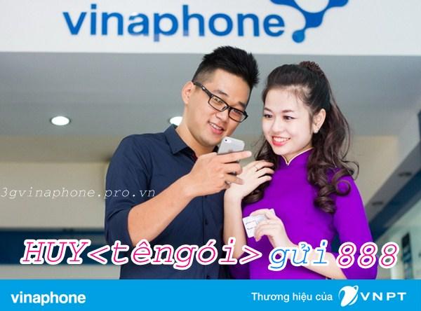 Hướng dẫn hủy gói 4G Vinaphone đang sử dụng nhanh nhất