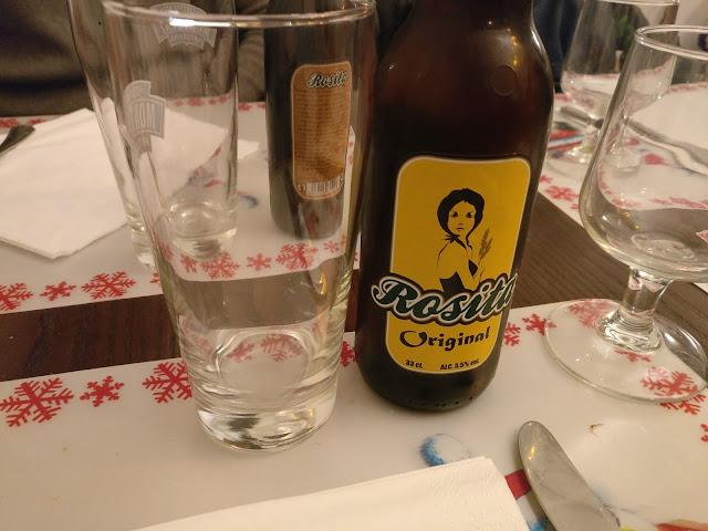 Cervesa artesana de mel del Tritón restaurant de proximitat Sant Feliu de Guíxols
