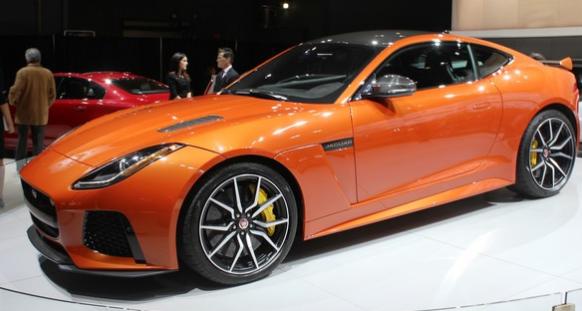 2017 Jaguar F-Type SVR Design