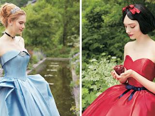 Vestidos de casamento inspirados nas princesas da Disney