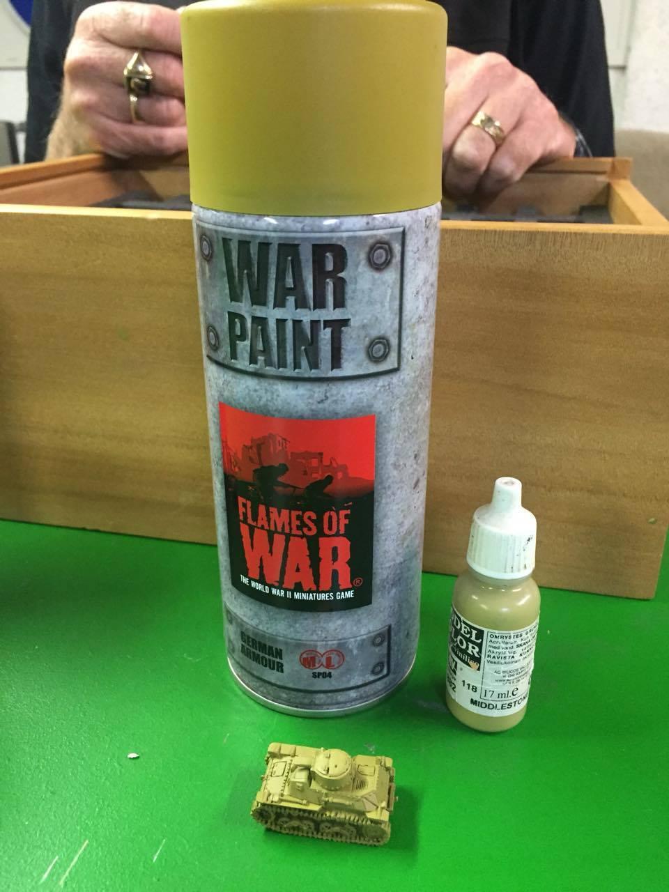 Armour Yellow Spray Paint