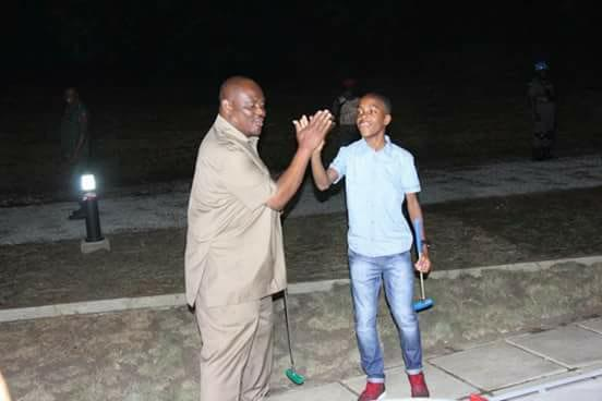 Gov. Wike and son