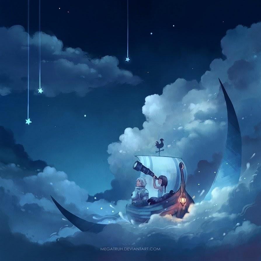 06-Cast-Away-on-the-Moon-Niken-Anindita-megatruh-Surreal-and-Fantasy-Meet-in-Digital-Art-www-designstack-co