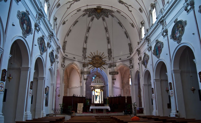 Interior da Catedral de Ibiza