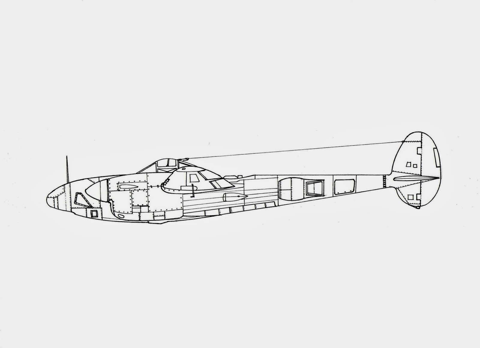 Marzo Aircraft Drawings