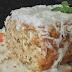 Receita saudável de bolo de coco com laranja | Fácil, molhadinho e delicioso