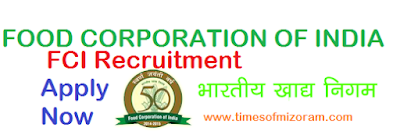 FCI Recruitment 2019 for 4103 Post
