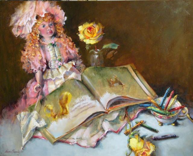 Американский художник. Ann Hardy 18