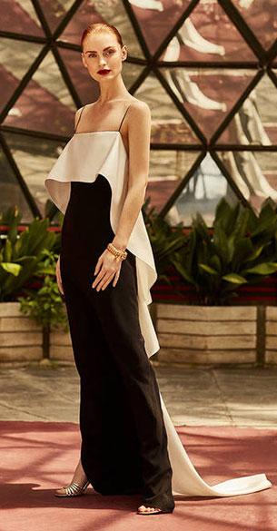 vestido negro fiesta Pedro del Hierro colección Red Carpet