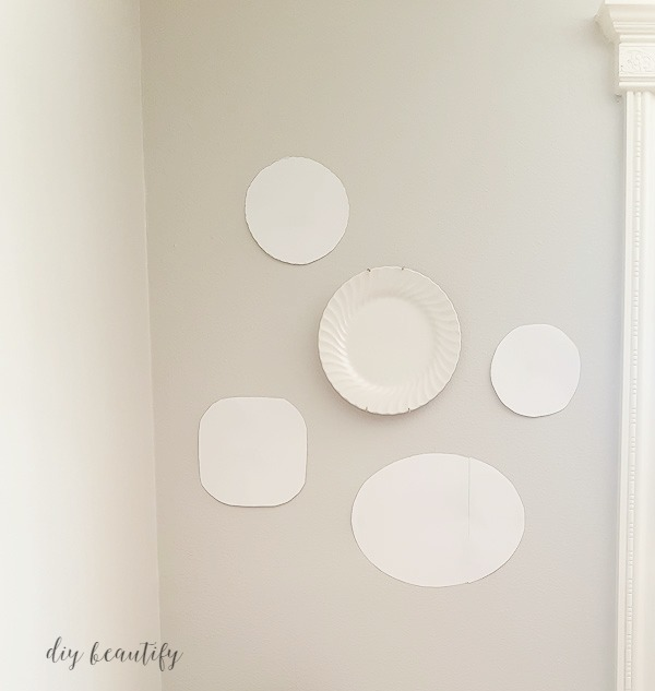 how to hang plates on the wall