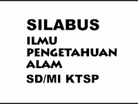 Download Contoh Silabus Mapel IPA SD/MI KTSP Lengkap Revisi 2017