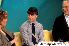 Daniel Radcliffe on The View