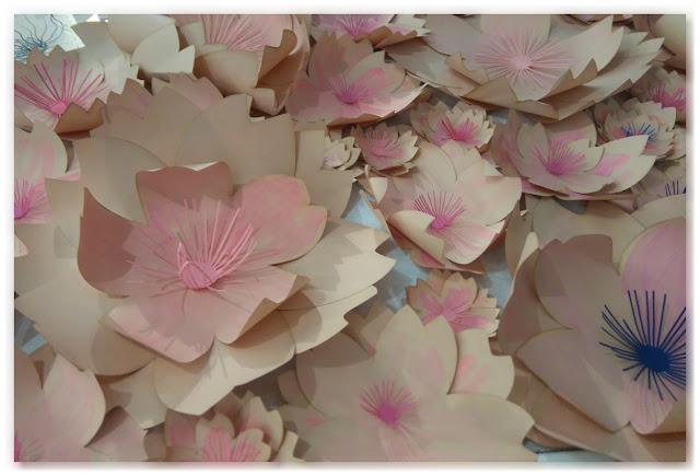 fleurs en papier Charlotte Sagory