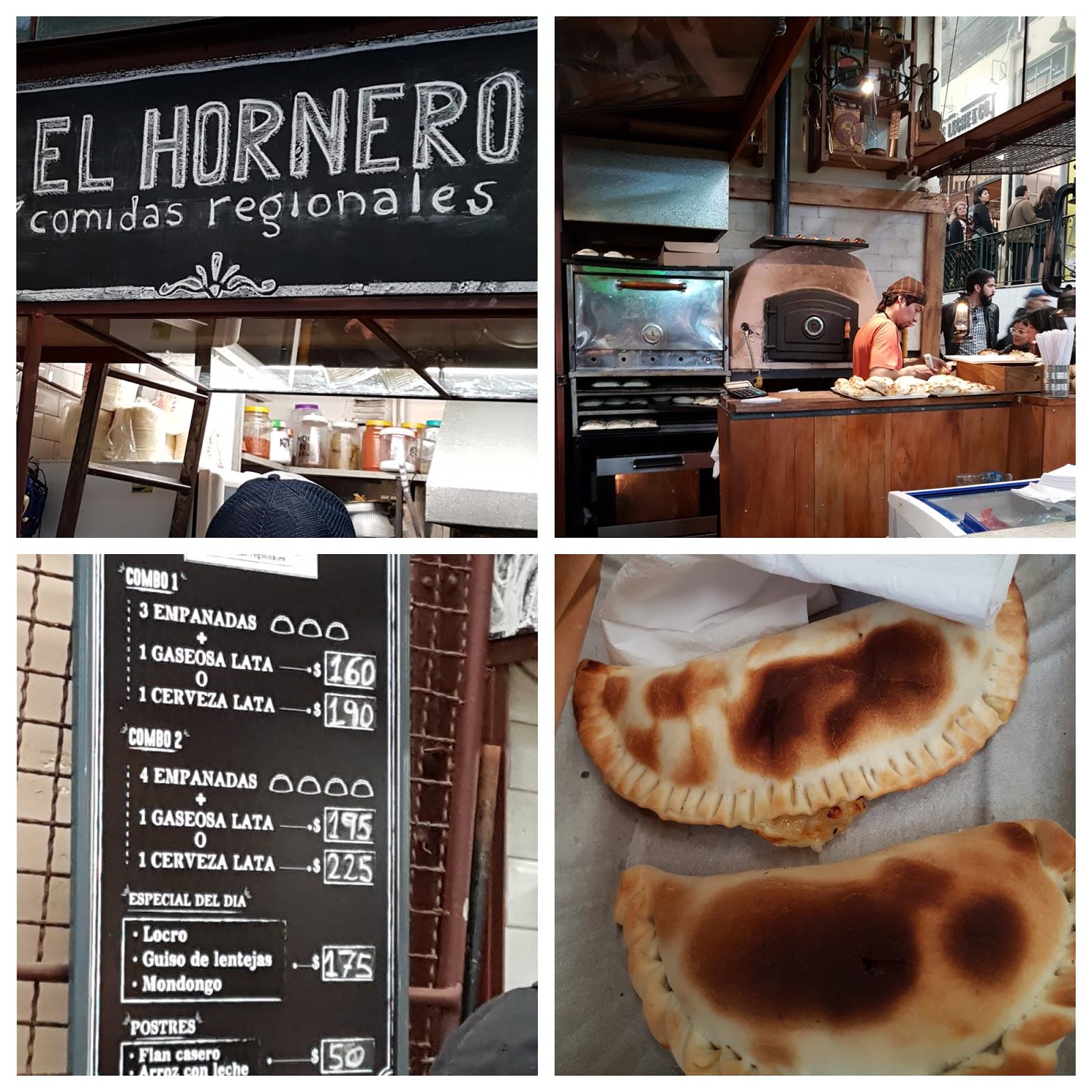 El Hornero no Mercado de San Telmo em Buenos Aires.