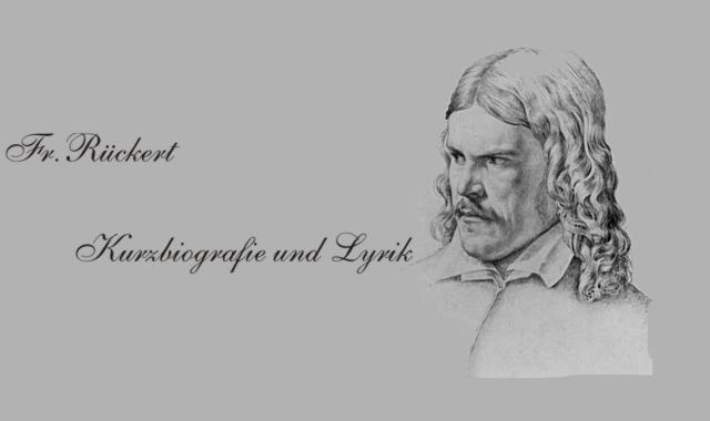 Friedrich Rückert-Biografisches
