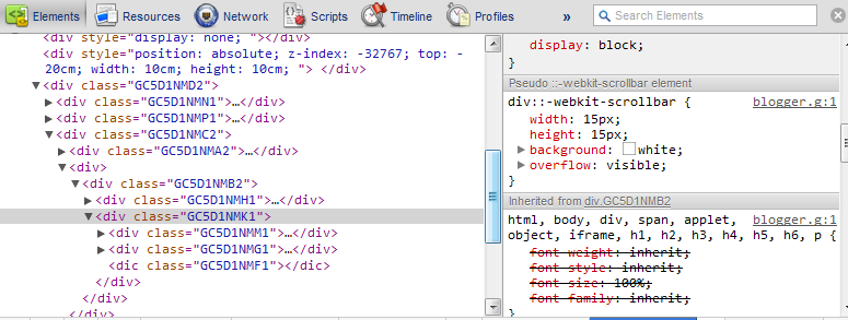 CSS web scrollbar: How to design, style or customize the scrollbar