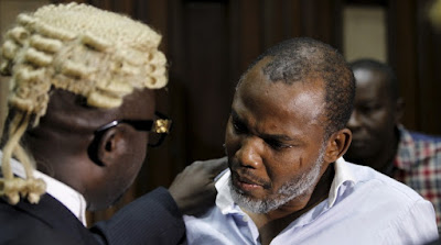 Nnamdi Kanu, the leader of the separatist group, Indigenous People of Biafra, has communicated the eagerness of his gathering to arrange with the Federal Government to end the tumult for self-administration.
