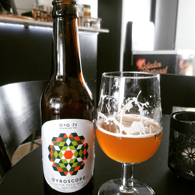Portugal Craft Beer Review: Gyroscope from Opo 74