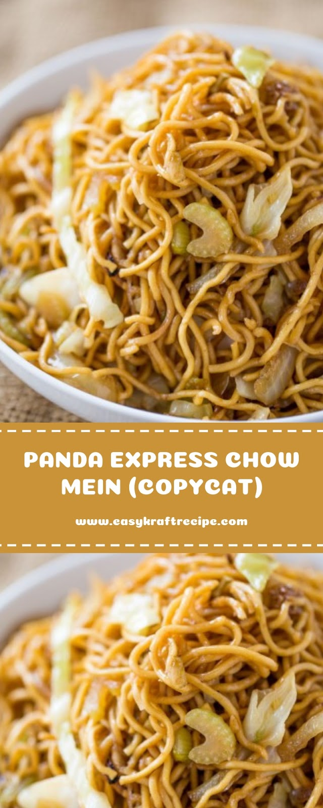 PANDA EXPRESS CHOW MEIN (COPYCAT)